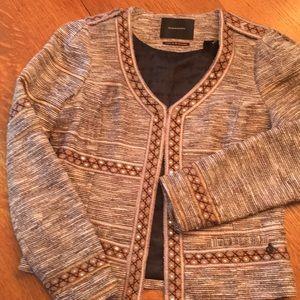 Maison Scotch Star de la Saison embroidered Jacket